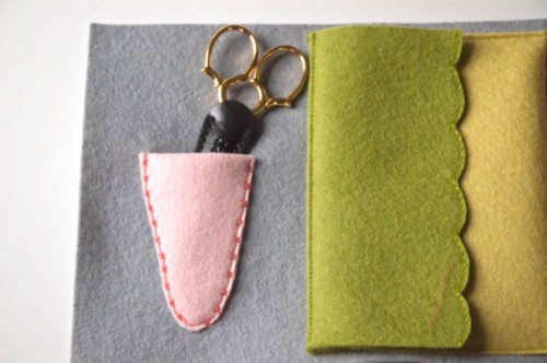 Diy Embroidery Felt Case For Craft