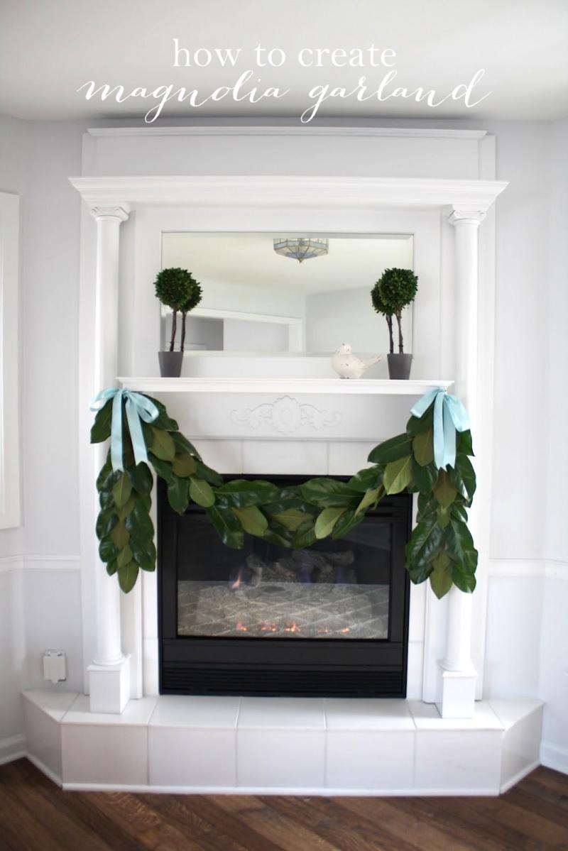 holiday magnolia garland