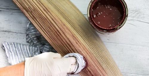 DIY Fab Fruit Bowl From A Palm Tree Leaf