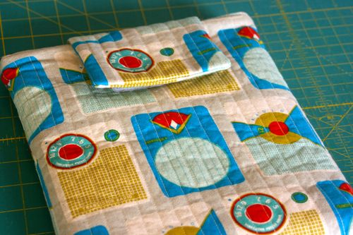 DIY Fabric Ipad Cover