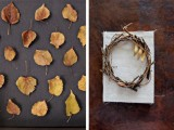 Diy Fall Art Piece For Your Living Room