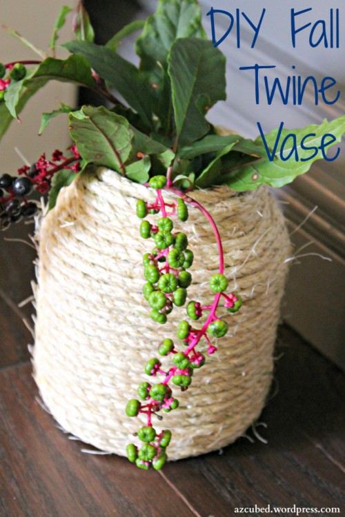twine vase (via domesticsuperhero)
