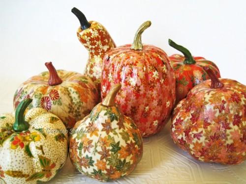 DIY Fall Pumpkin Decoupage