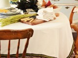 sophisticated fall tablecloth