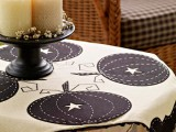 pretty pumpkin tablecloth