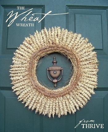 rustic wheat wreath (via choose-to-thrive)