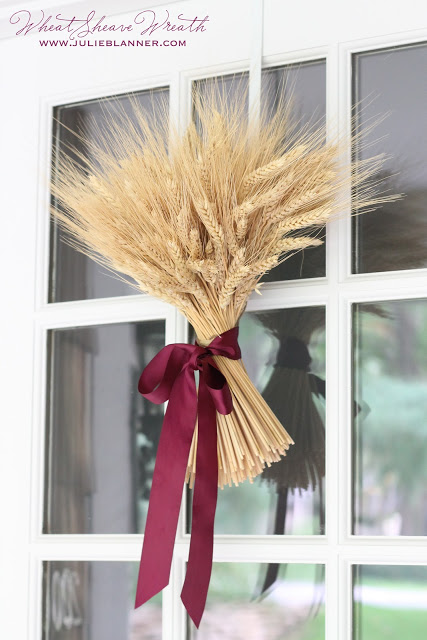 wheat sheath wreath
