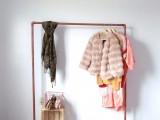 diy-faux-copper-rolling-garment-rack-3