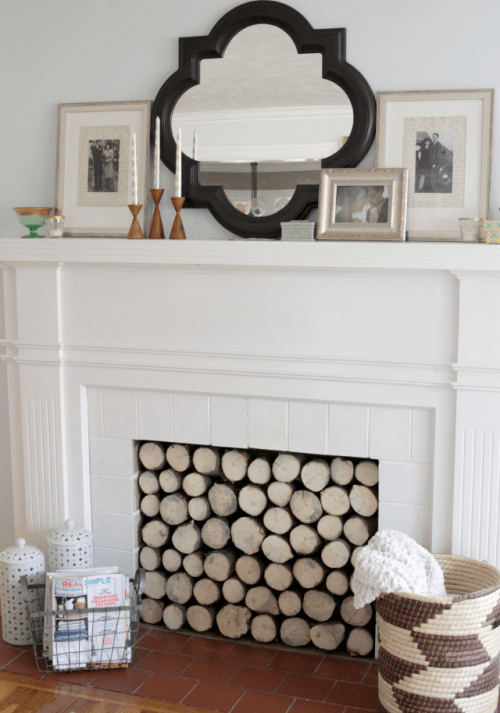 Diy Faux Log Stand