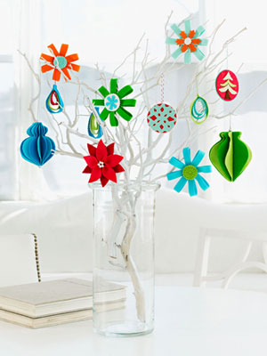 DIY Colorful Felt Ornaments