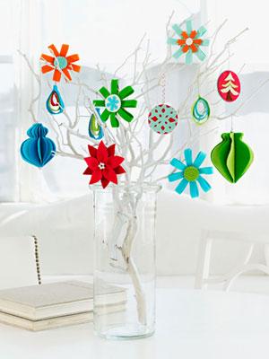 DIY Colorful Felt Ornaments