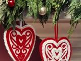 Scandinavian-inspired hearts