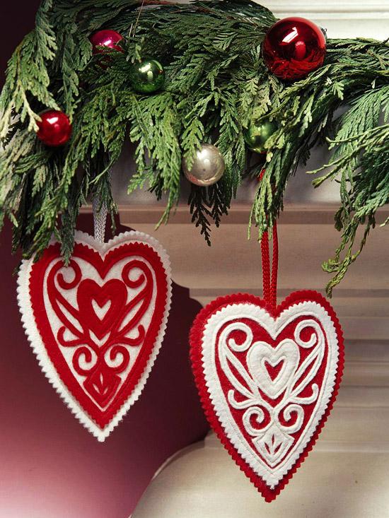 Scandinavian inspired hearts