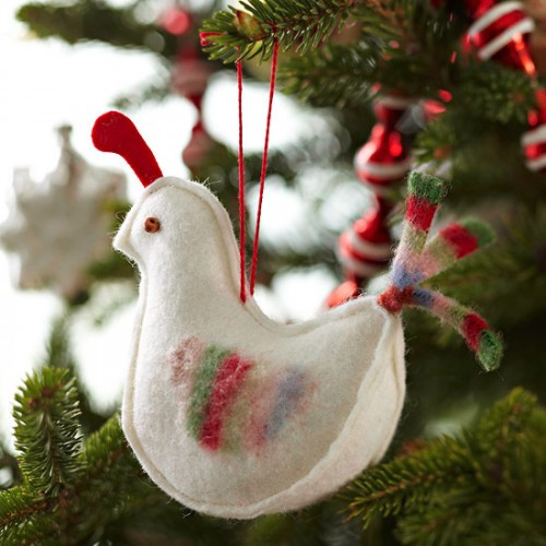 These ornaments are perfect for nature-themed Christmas tree decor.