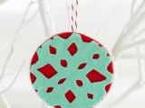 Cutout snowflake