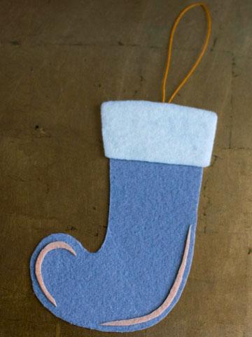 Felt stocking