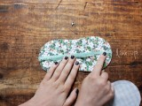 Diy Floral Patterned Sleeping Mask