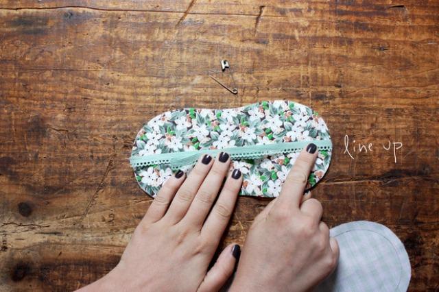 Diy Floral Patterned Sleeping Mask