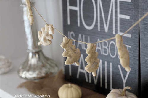 DIY Flour Dough To Make Various Decorations
