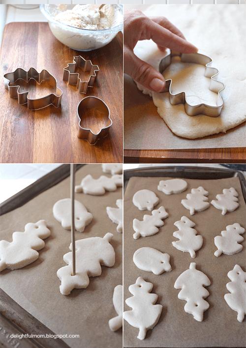 DIY Flour Dough To Make Various Decorations