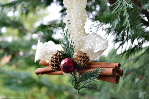 cinnamon stick ornament (via folklifestyle)