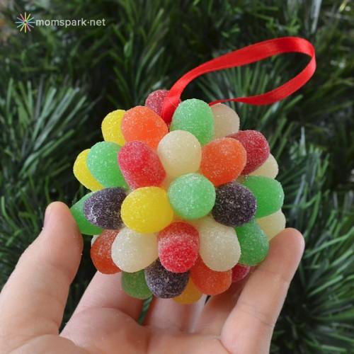gum drop ornaments