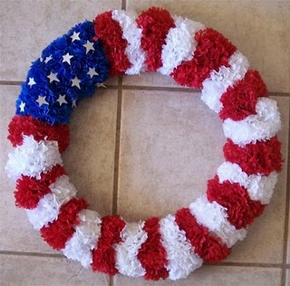 DIY Fourth Of July Wreath