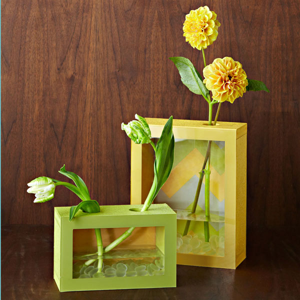 Diy Frame Vases To Create A Flower Masterpiece