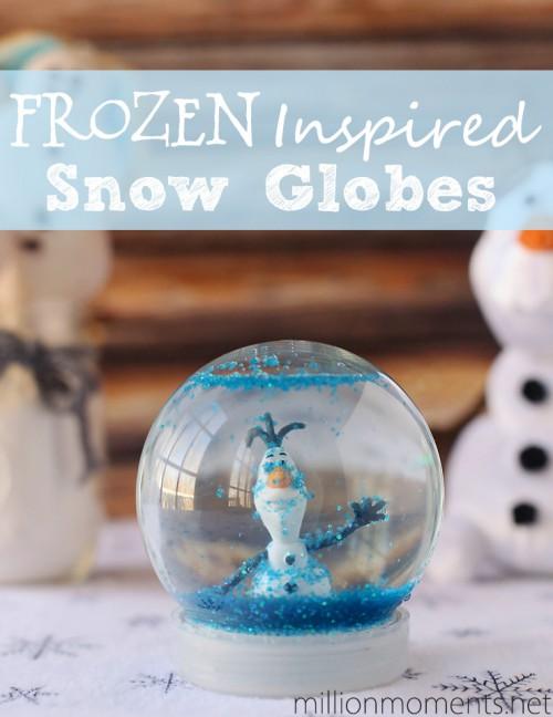 Olaf snow globe (via millionmoments)