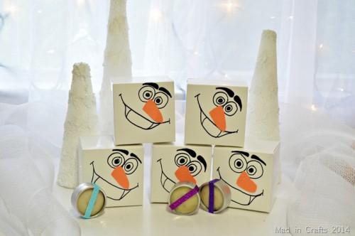 Frozen party favors (via madincrafts)
