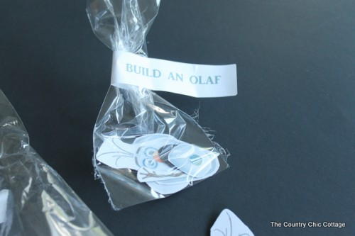 Olaf party favors (via thecountrychiccottage)