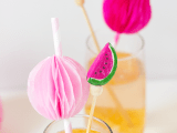 fruity drink stirrers