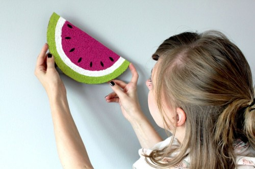 watermelon memo board (via orangenmond)