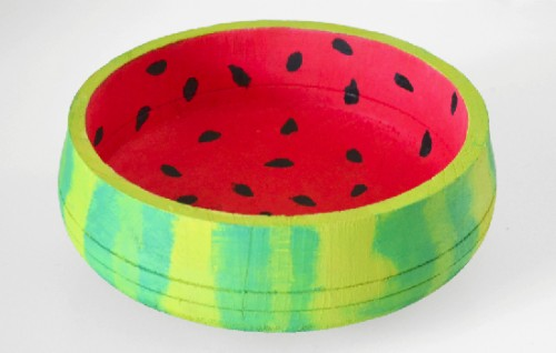 watermelon bowl (via dreamalittlebigger)