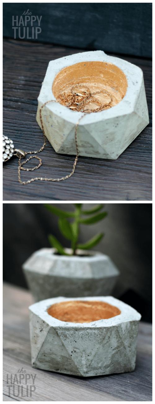 concrete geo bowl (via thehappytulip)