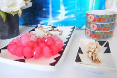 6 DIY Geometric Jewelry Dishes, Trays And Bowls - Shelterness