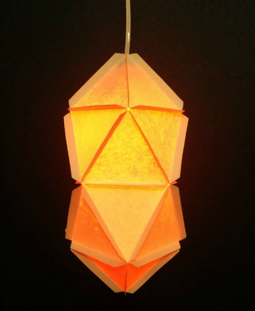 geo paper lamps (via instructables)