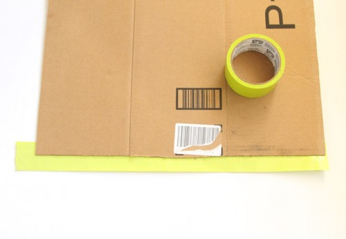 DIY Geometric Shoe Rack Of Cardboard
