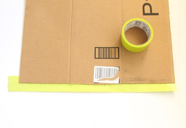 Picture Of diy geometric shoe rack of cardboard  2
