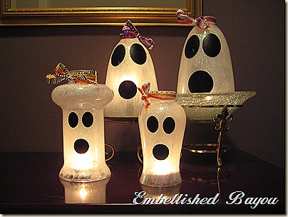 Diy Ghost Luminaries