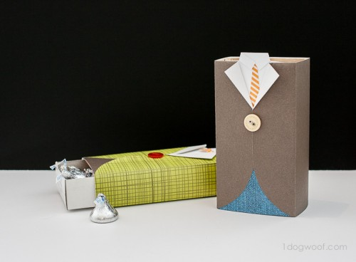 12 DIY Gift Boxes, Wraps And Tags For Father's Day