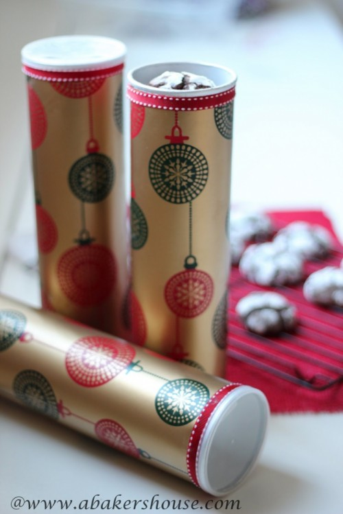 DIY Christmas Gift Packaging For Cookies
