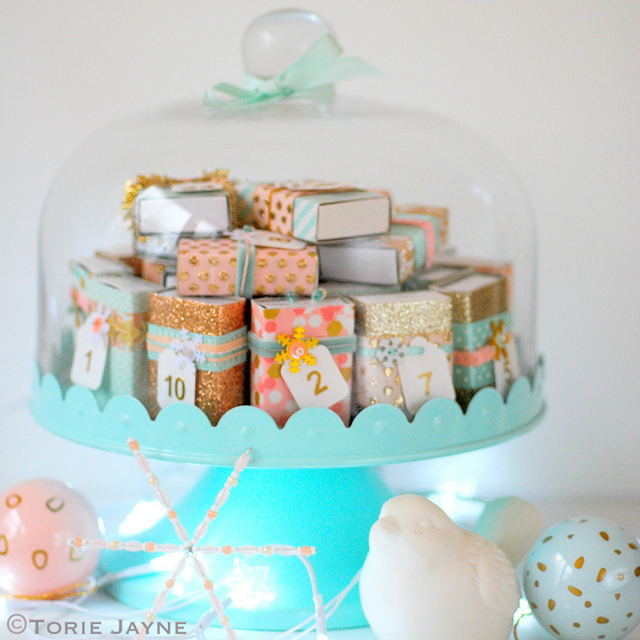 DIY Glam Matchbox Advent Calendar