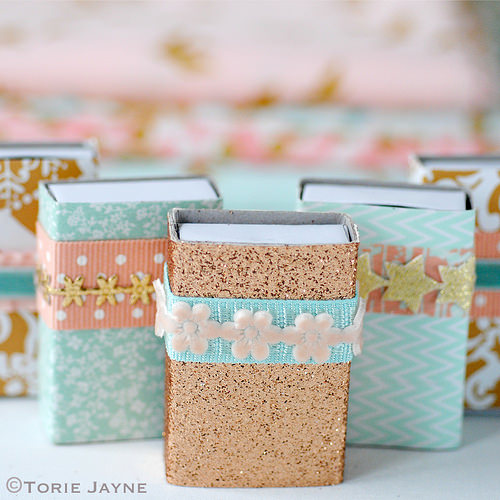 Diy Matchbox Advent Calendar : Diy glam matchbox advent calendar shelterness