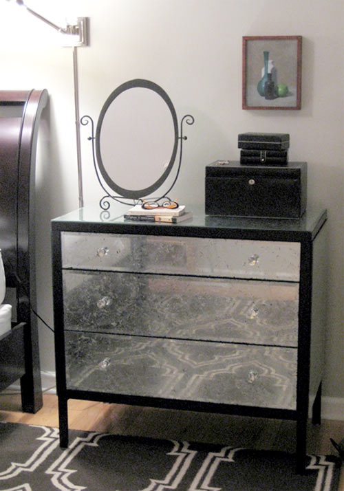 DIY Chic and Glamorous Dresser Renovation