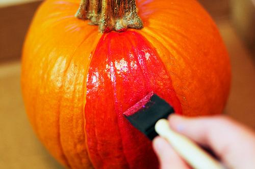 Diy Glamour Halloween Pumpkin