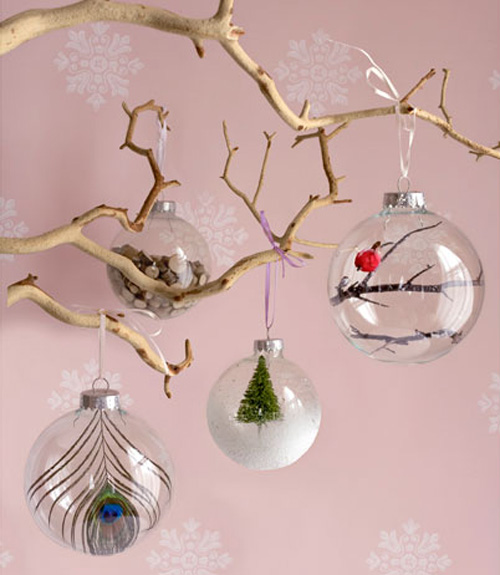 homemade christmas tree decorations photo23 - Glass Christmas Tree Decorations