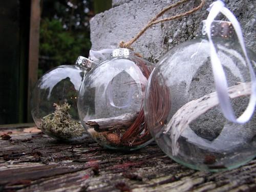 Стеклянные шары своими руками