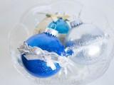 no mess glitter ornaments