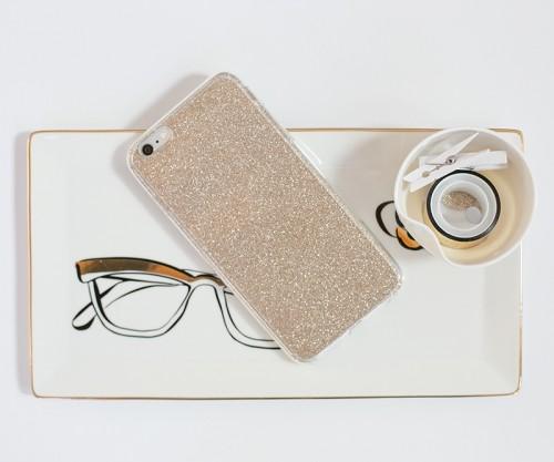 DIY Glitter Gold Phone Case In 5 Minutes